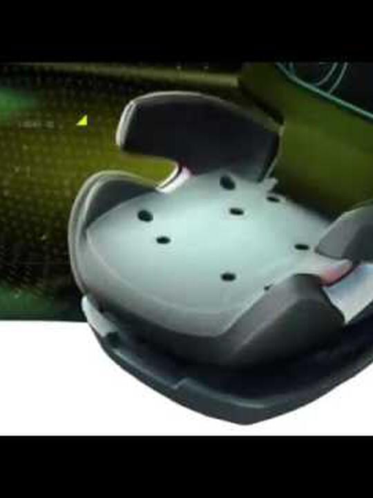CYBEX Pallas 2-Fix Car Seat - Pure Black image number 2