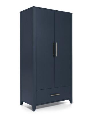 خزانة ملابس ميلفي بالحجم الكامل - أزرق داكن