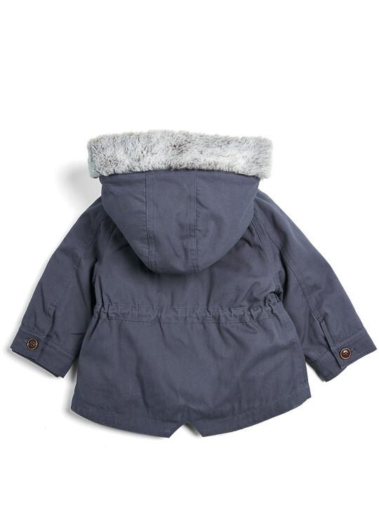 معطف باركر 2 في 1 - كحلي image number 2