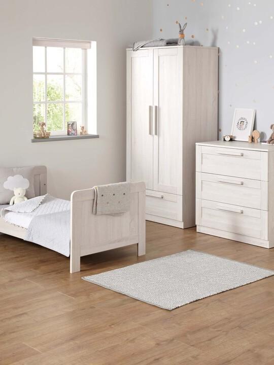 خزانة أطلس - لون أبيض شاحب image number 4