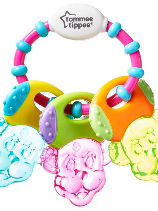 حلقة تسنين تيث اند بلاي مليئة بالماء من تومي تيببي للأطفال من 6 شهور فأكثر - متعددة الألوان image number 3