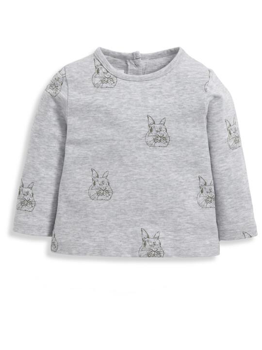Bunny Print T-Shirt image number 1