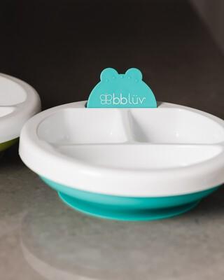 BBLuv Plato (Aqua) - Warm Feeding Plate