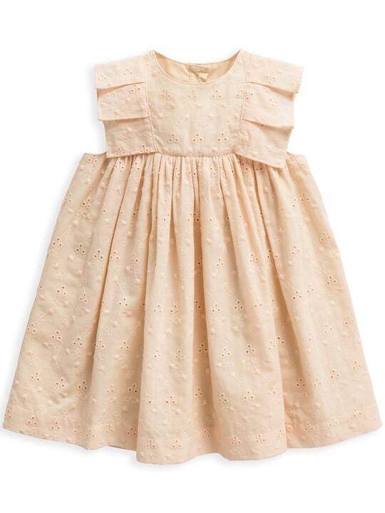 فستان بتطريز إنجليزي image number 1