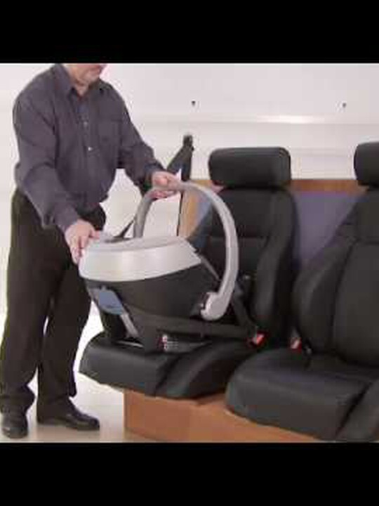 مقعد سيارة Aton - أزرق بحري image number 2