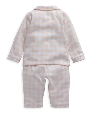 Pink Gingham Check Woven Pyjamas