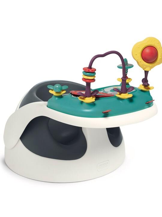 كرسي أطفال بيبي سناغ بصينية ألعاب - كحلي image number 1