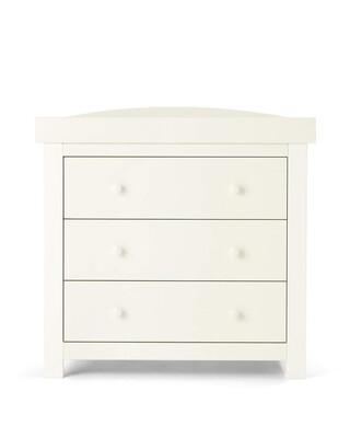 خزانة أدراج/طاولة تغيير ميا - أبيض