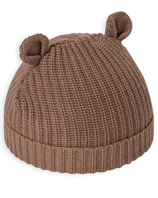 KNIT HAT WITH EARS 3-6