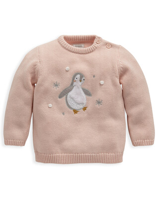 Penguin Knitted Jumper