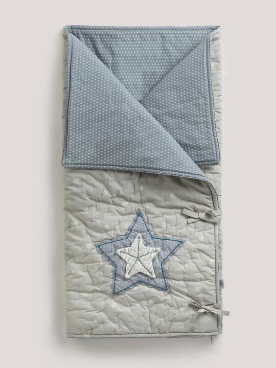 بطانية Snuggle Me من Millie & Boris - لون أزرق image number 1