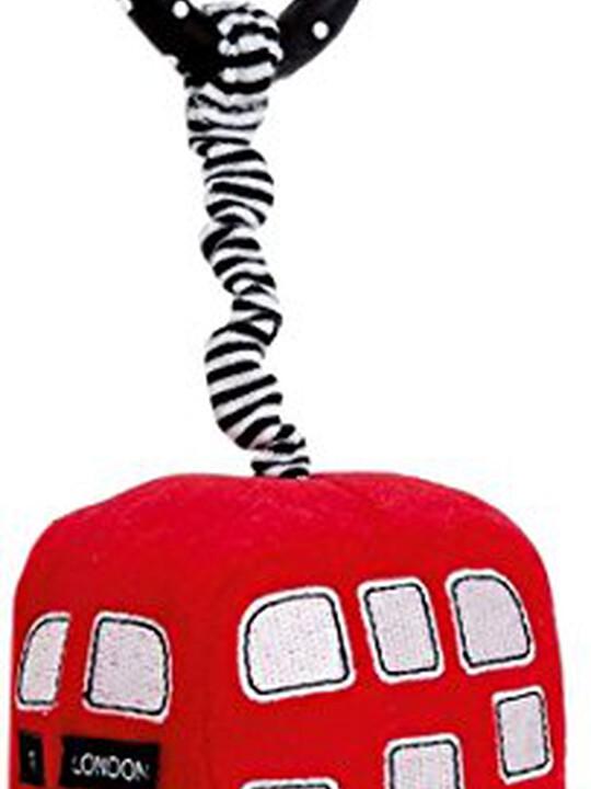 دمية حافلة MINI RED BUS اللينة image number 1