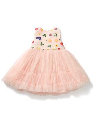 فستان توتو مطرز