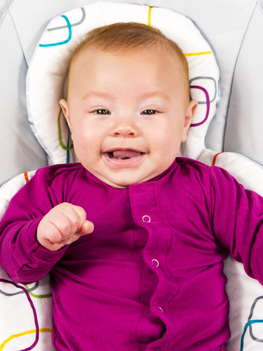 بطانة بوجهين لحديثي الولادة من فور مامز - متعدد الألوان image number 3