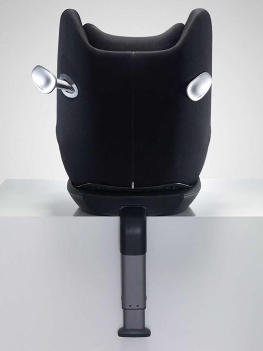 مقعد سيارة Cybex Sirona - أسود رقيق image number 4
