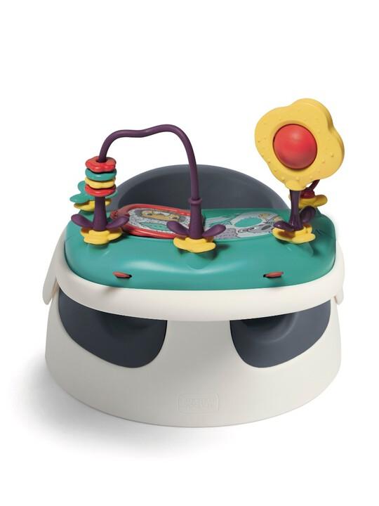 كرسي أطفال بيبي سناغ بصينية ألعاب - كحلي image number 2