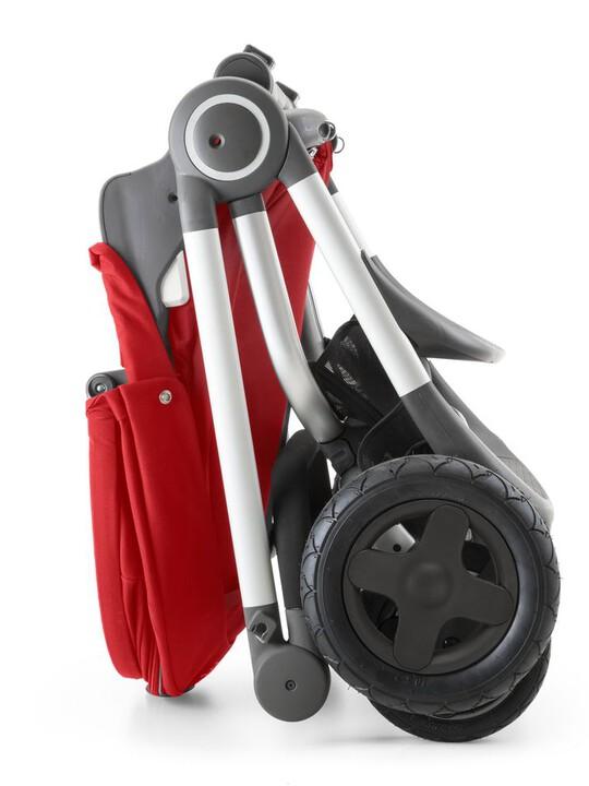 عربة Stokke® Scoot - لون أحمر image number 5