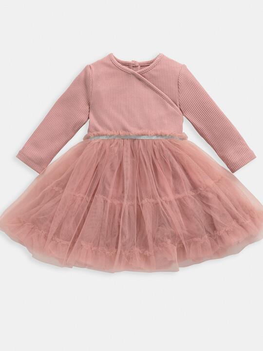 Pink Wrap Dress image number 1