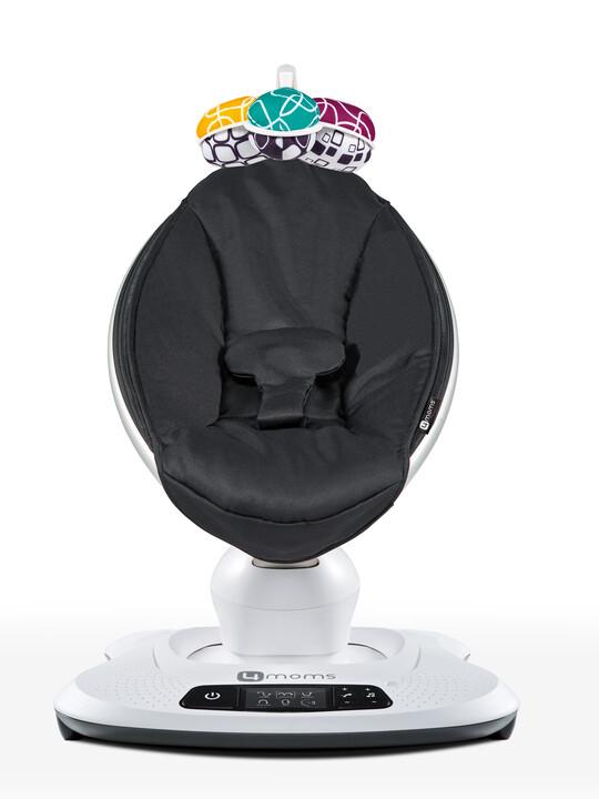 كرسي هزاز/ارتدادي مامارو 4.0 من فور مامز - أسود كلاسيكي image number 1