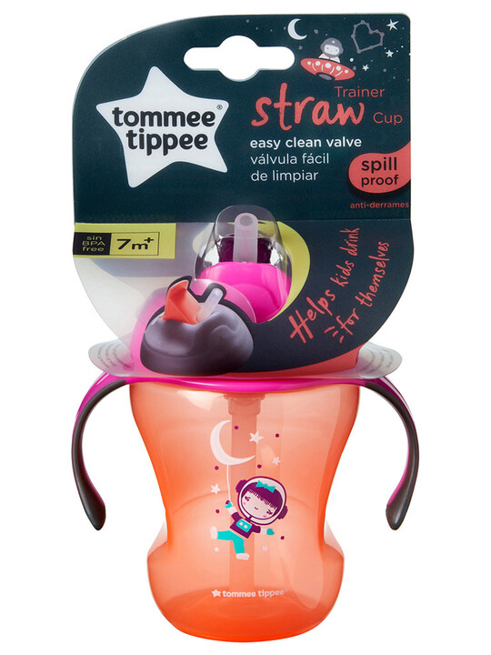 TT Easy Drink Straw Cup - New Blue image number 2