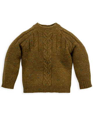CABLE KNIT JUMPER 0-3