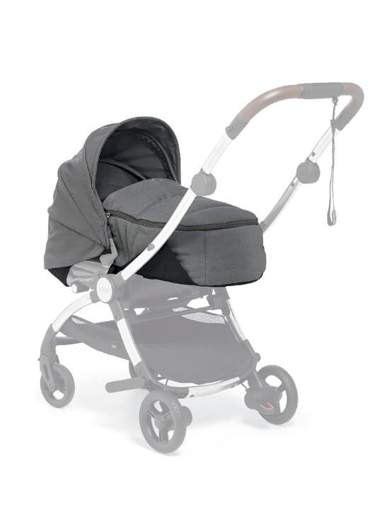مجموعة مقعد عربة أطفال ايرو لحديثي الولادة - رمادي image number 2
