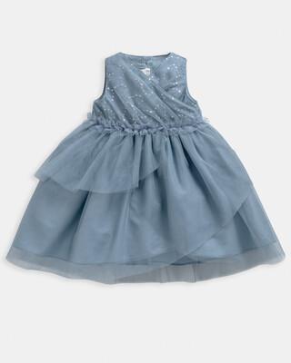 فستان متعدد الطبقات بترتر