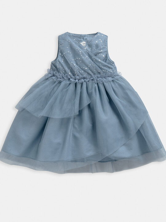 Tiered Sequin Dress image number 1