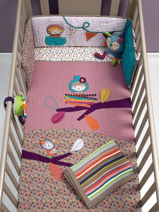 Timbuktales - Girls Cotbed Coverlet image number 3