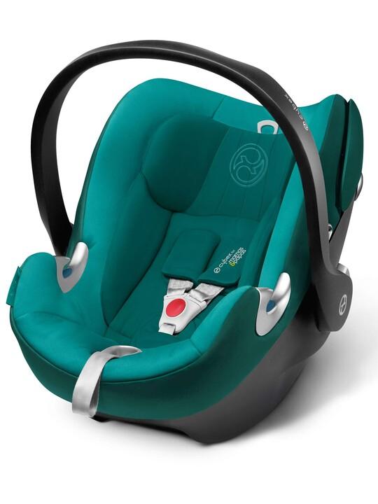 مقعد سيارة CYBEX Aton Q - أزرق مائل للخضرة image number 1