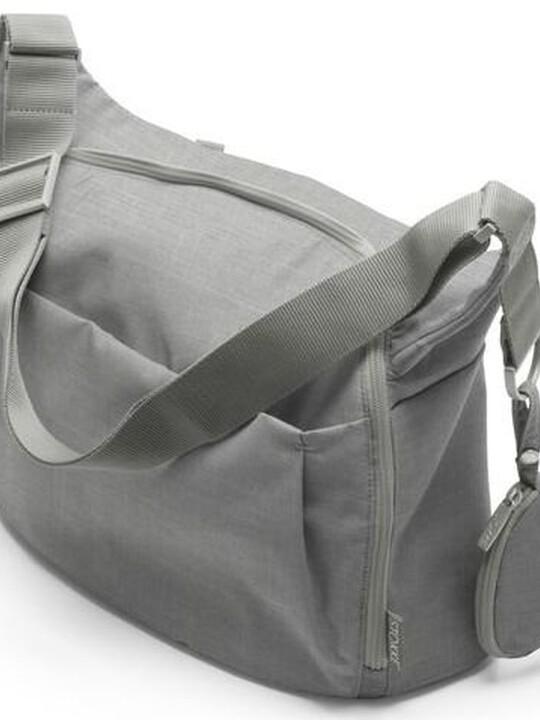 حقيبة تغيير إكسبلوري من ستوكي- بمزيج من اللون الرمادي image number 1