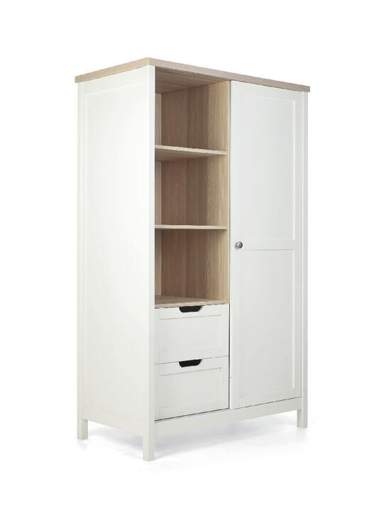 خزانة هارويل - أبيض وبني image number 4