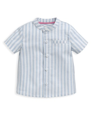 قميص منسوج مخطط