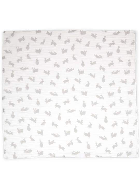 Large Muslin Squares (Pack of 3) - Welcome to the World - 90 x 90cm image number 4