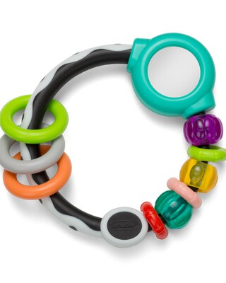 Infantino - Shake & Spin Rattling Ring
