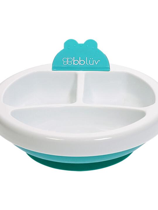 طبق للحفاظ على حرارة الطعام بلاتو من بيبي لوف - أزرق image number 6