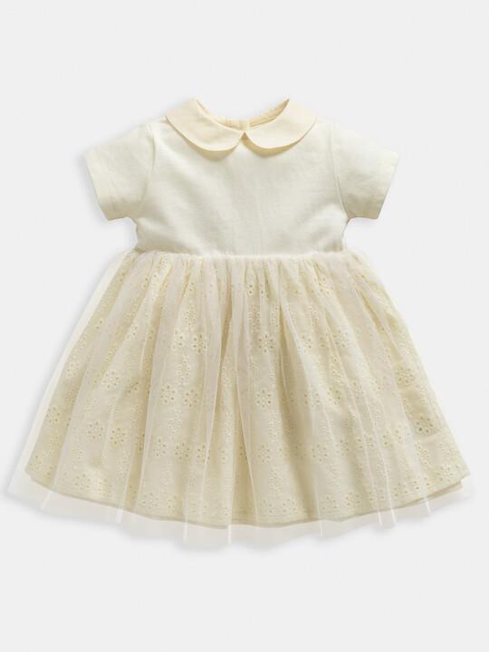 Jersey Broderie Dress image number 1