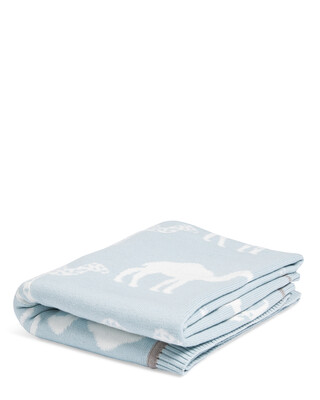 بطانية منسوجة (70 × 90 سم) - بلو كاميل