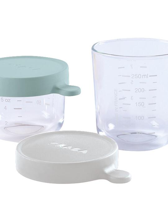 Beaba Conservation Jar Glass Set of 2 150ml / 250ml image number 1