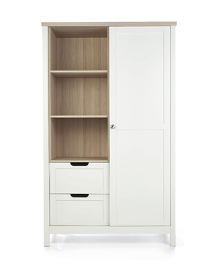 Harwell Wardrobe White/Oak