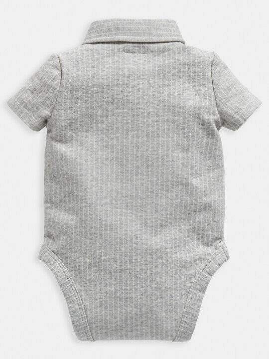 Grey Polo Bodysuit image number 2