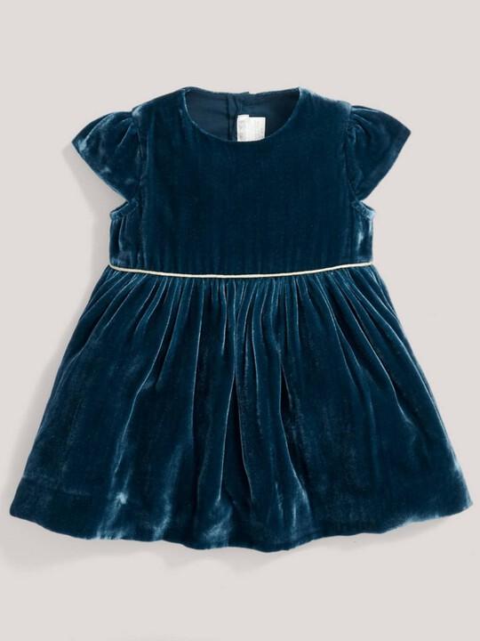 فستان مخملي image number 1
