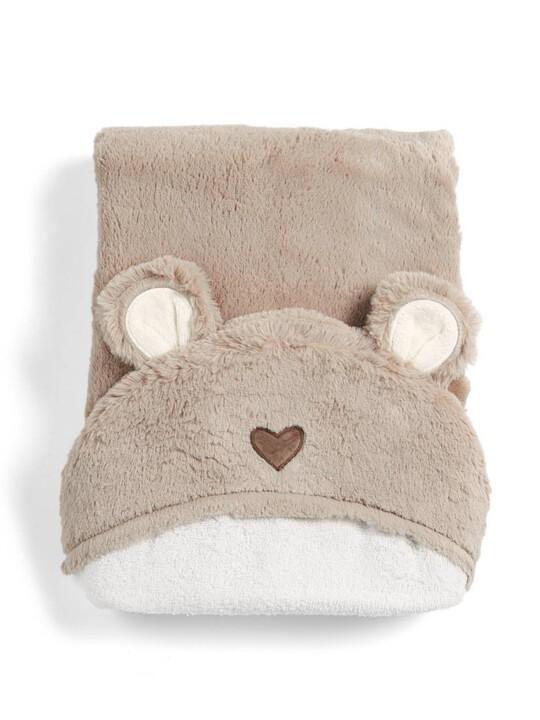 منشفة بغطاء للرأس بتصميم دب - ميلي وبوريس image number 1