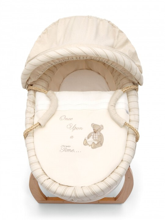 Once Upon A Time - Neutral Moses Basket image number 1