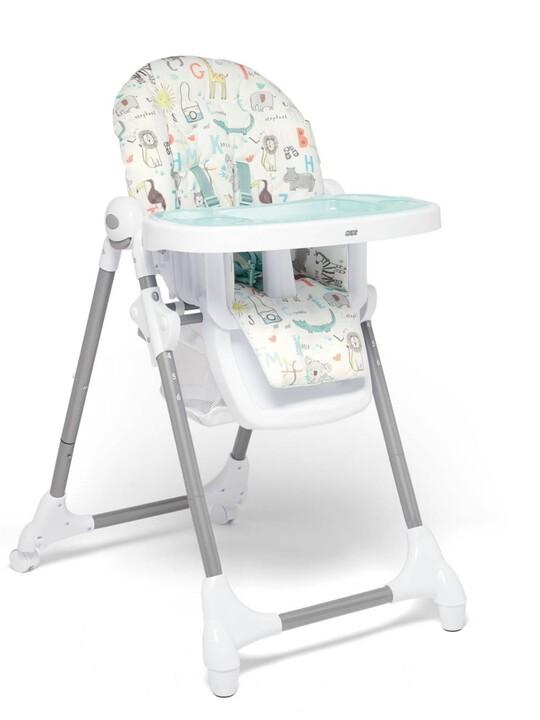 كرسي مرتفع سناكس قابل للتعديل بصينية إضافية قابلة للإزالة - سفاري image number 1
