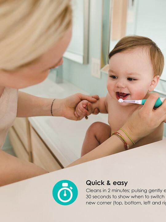 فرشاة الأسنان سونيك بمرحلتين للرضع والأطفال بسن المشي من بيبي لوف image number 4