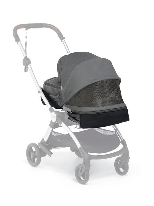 مجموعة مقعد عربة أطفال ايرو لحديثي الولادة - رمادي image number 4