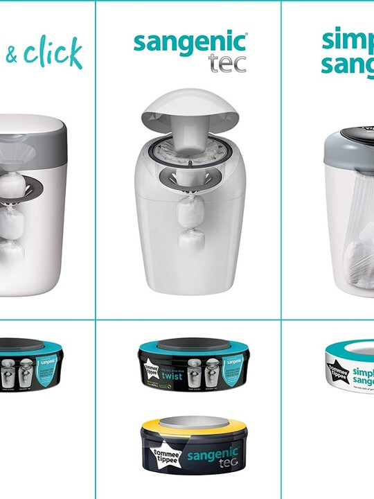 Tommee Tippee Sangenic Universal Cassette 3Pk image number 4