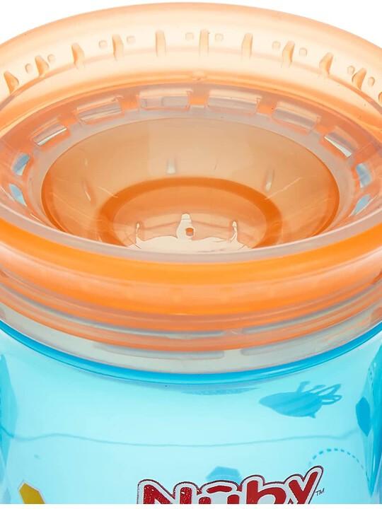 كوب وندر بزاوية شرب 360 درجة من نوبي بلون أزرق - 300 ملل image number 3